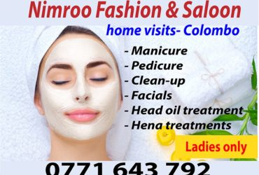 Beauty care Home visits Colombo