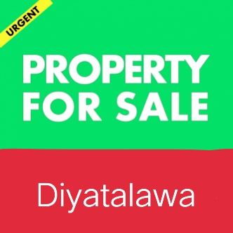 Valuable commercial building for sale in Diyathalawa