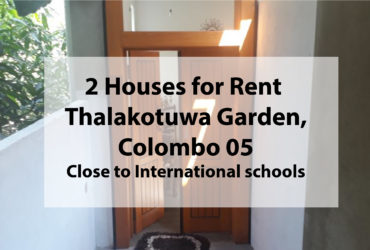 hOUSE FOR RENT tHALAKOTUWA GARDEN cOLOMBO 05