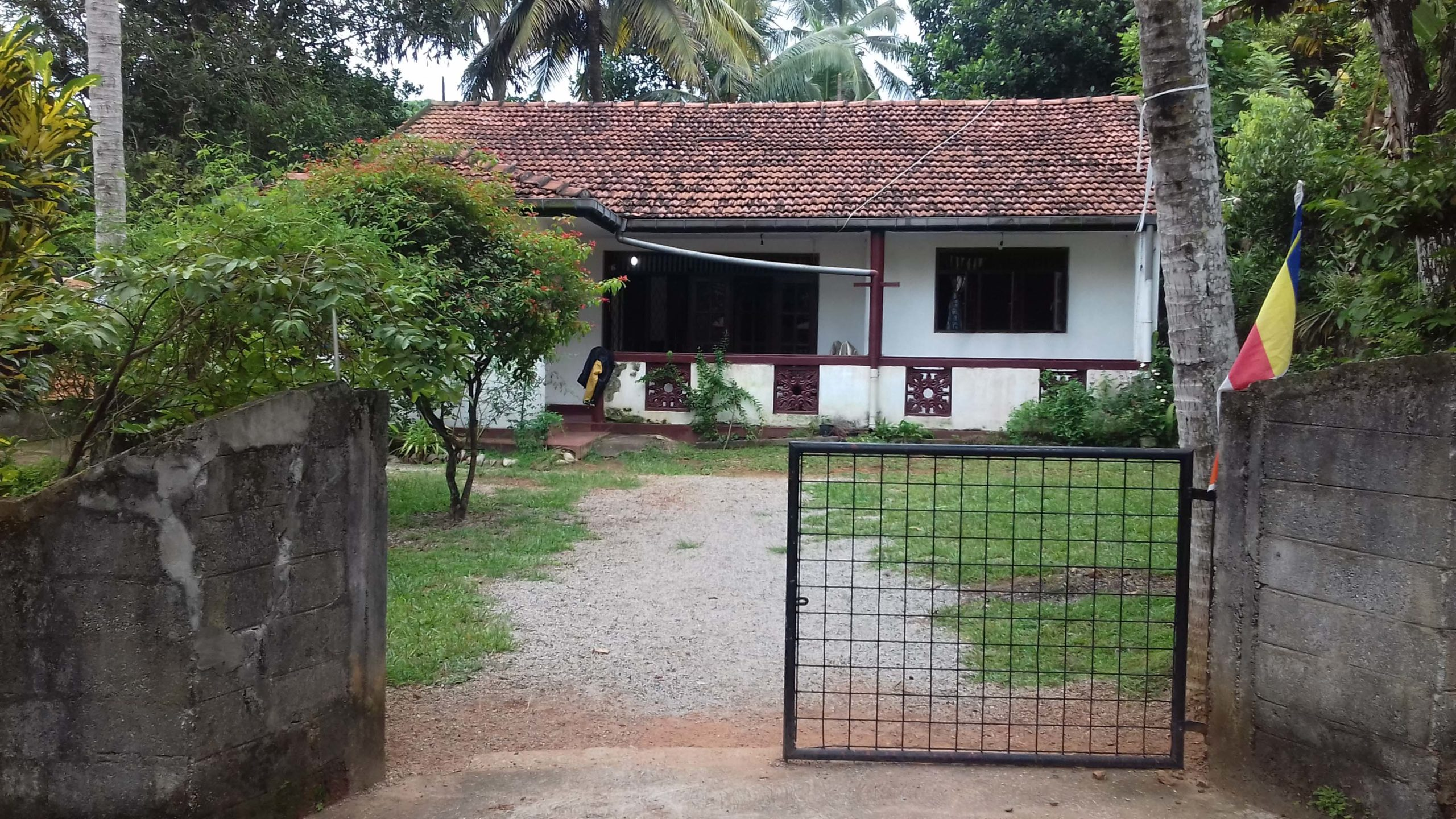 sale for land with house