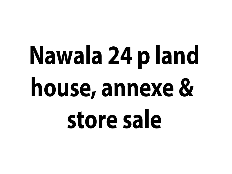 land sale nawala 24 perch