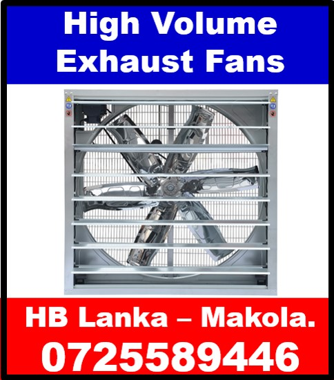 Wall Exhaust  fans fans sale srilanka, Belt driven shutter fans, high volume fans srilanka,wall exhaust fans srilanka