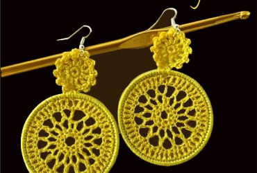 Fabric handloom earings for sale