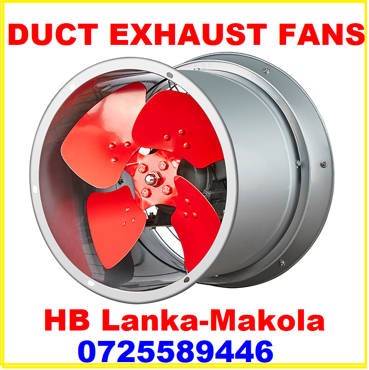 Duct exhaust fan srilanka, exhaust blowers srilanka, barrel type fans