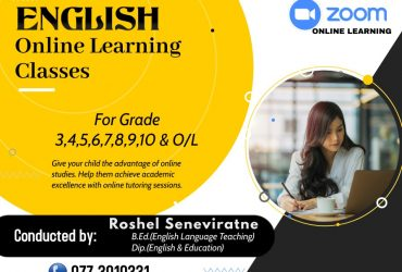 Online tutoring-ENGLISH
